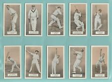 More details for cricket  -  carreras  ltd.  -  set of 50  -  a  series  of  cricketers  -  1934