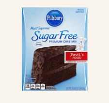Pillsbury Sugar Free Devil's Food Cake Mix 16 oz