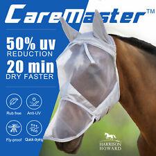 Harrison Howard horse Fly Mask Hood full face mesh Fleece padded Anti-UV Free PP
