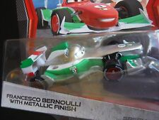DISNEY PIXAR CARS 2 SILVER METALLIC FRANCESCO BERNOULLI PC SAVE 5% WORLDWIDE FA