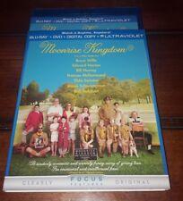 Moonrise Kingdom (Blu-ray/DVD, 2012, 2-Disc Set) with slipcover