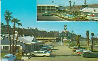 "San Diego CA  ""Del Webb's HIWAYHOUSE Motel""  Postcard California"
