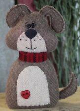 PATTERN - Puppy love - cute wool pincushion PATTERN - Cottonwood