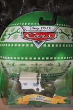 """DISNEY PIXAR CARS """"SARGE WITH ROOF LIGHTS - CHRISTMAS CARS"""" NEW IN PACKAGE"""