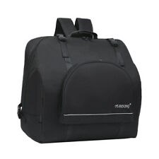Padded 120 Bass Piano Accordion Gig Bag Carrying Cases Waterproof Black