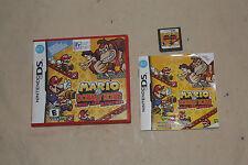 Mario vs. Donkey Kong: Mini-Land Mayhem (Nintendo DS, 2010) Complete 7301