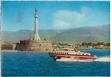 MESSINA - ALISCAFO ALL'USCITA DEL PORTO 1965