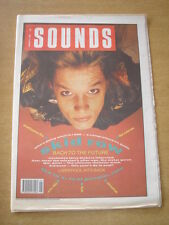 SOUNDS 1990 JANUARY 6 SKID ROW LIVERPOOL ERIC IDLE SILVERFISH REAL PEOPLE