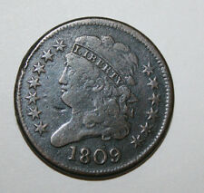 "1809 HALF CENT (CIRCLE INSIDE ""O"")  051"