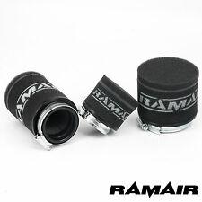 2x RAMAIR Motorcycle - Scooter - Performance Race Foam Pod Air Filter 58mm Short