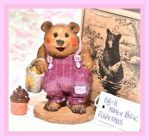❤️Wee Forest Folk BB-11 Honey Bear Purple Plum Sun SPECIAL FairyTales LE 75❤️