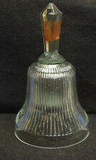 Lead Crystal Dinner Bell - 6 inches tall - Maker Unknown