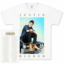 Justin Bieber - LIMITED EDITION: Believe Tour T-Shirt - Size: Small