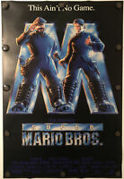 SUPER MARIO BROTHERS Original One Sheet DS/Rolled Movie Poster - 1993