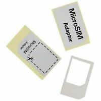 2 X NEW Micro Sim card Adapter for iPhone 4G iPad UK