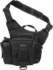 "Maxpedition Jumbo Versipack 0412B Main compartment measures 9"" x 9"" x 3"". Has th"