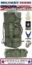 NEW Military Issue Improved Duffel Bag Deployment Bag W/Zipper NSN 8465016046541
