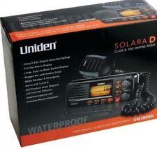 Uniden UM380BK Class D Full Featured FixedMount VHF Marine Radio Black Brand NEW
