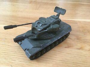 DINKY VINTAGE GERMAN LEOPARD A A GUN TANK 696