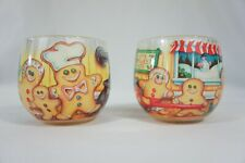 2 Vintage Glade Scents Holiday Candles Gingerbread Family Christmas Cookie