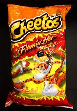 Cheetos Crunchy Flaming Hot 226.8g Bag Flamin' Hot ..