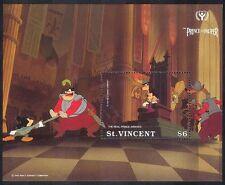 St Vincent 1991 Disney/ILY/Prince/Pauper/Films/Cinema/Animation 1v m/s (d00268)