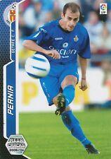 N°169 PERNIA # ARGENTINA GETAFE.CF TRADING CARD PANINI MEGACRACKS LIGA 2006