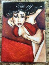 Vampirella SKETCH STACEY GIRDLEY SKETCH CARD! LOOK!