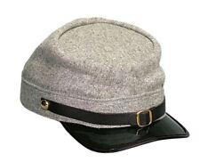 Confederate Army Civil War Hat Grey Kepi Wool Cap Replica Rothco 5344