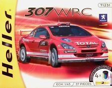 Heller 1:43 Peugeot 307 WRC 2004 Rally Car Model Complete Kit