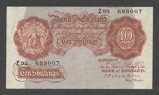 Banco de Inglaterra-Mahon 10 SH 1928-30 BUEN VF (billetes)