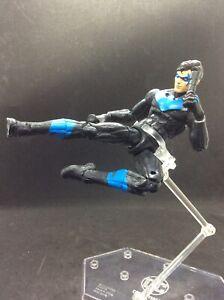 "Nightwing Rebirth Custom 6"" Action Figure Marvel Legends 34 Points Of Articulati"