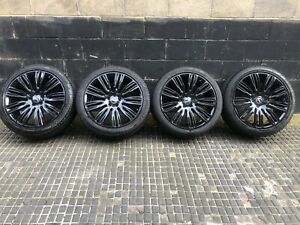 """NEW RANGE ROVER VOGUE & SPORTS 22"""" INCH GLOSS BLACK 9012 ALLOY WHEELS ONLY"""