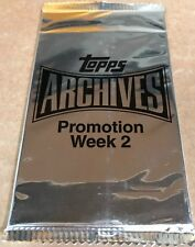 ONE 2013 Topps Archives Promo/Promotion Week-2 5-Card Pack Hobby Exclusive