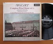 SXL 6051 ED1 Mozart Complete Wind Music Vol. 2 Jack Brymer EXCELLENT Decca WBG