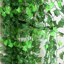 7.5ft. Artificial Grape Vine Faux Ivy Leaf Garland Z2R9 Foliage Plants E4X7 E2I3