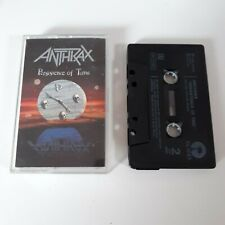 ANTHRAX PERSISTENCE OF TIME CASSETTE TAPE ISLAND UK 1990