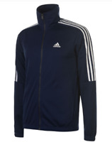 Adidas Tiro Poly Tracksuit Jacket Full Zip Mens Size UK 36/38 Navy/White *Ref104