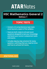 HSC Mathematics General 2 Topic Tests