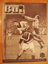 But 36 du 29/10/1946- Football, Lille-Strasbourg 2-2-Rugby Carcassonne-Marseille