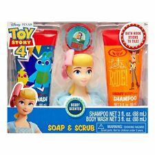 Toy Story 4 Movie Soap Kids Body Wash & Shampoo Set Fun Bath Time Toy