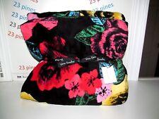 Vera Bradley Throw Havana Rose Plush Lightweight Microfleece Nwt