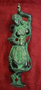 Dancing Female Door Handle Handmade Brass Lady Design Home Door Decor Gift VR258