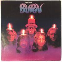 DEEP PURPLE BURN LP WARNER BROS USA 1978 REPRESS NEAR MINT PRO CLEANED