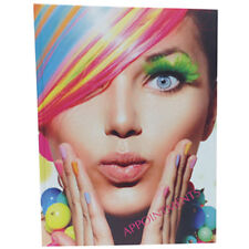 Appointment Book Diary Hair Beauty Salon Mobile RAINBOW HAIR Design 6 12 Coulmns