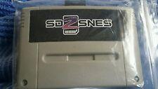 SUPER NES SD 2 SNES SD 2 SNES everdrive panier avec 8 Gig Carte SD seulement 2 gauche