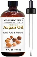Moroccan Argan Oil for Hair and Face From Majestic Pure,  100% Natural, Organ...
