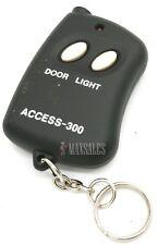 10 Digit Code Mini Remote Control Garage Door/Gate Transmitter w/ Mini Flashlite