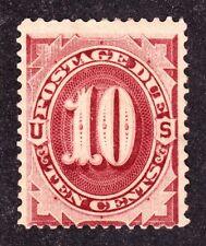 Us J19 10c Postage Due Mint Fine appr Og H Scv $600