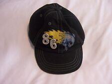 GAP Kids Boy's Black Baseball Cap Hat S/M 100% Cotton EUC